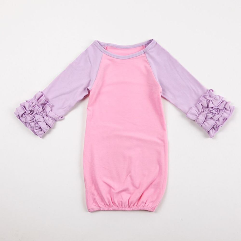 Aliexpress.com : Buy Baby Gowns Icing Sleeve nightgowns Baby ...