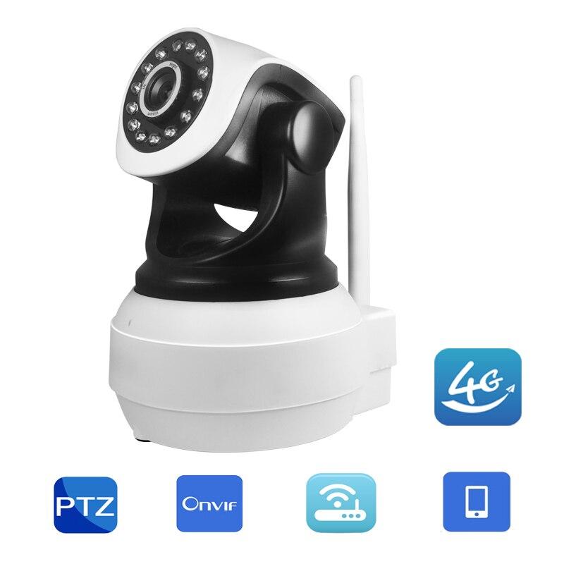 Sécurité à La maison 3g 4g Carte SIM GSM Mobile Caméra IP hd ptz 720 p caméra Vidéo de Surveillance dans le monde De Détection De Mouvement