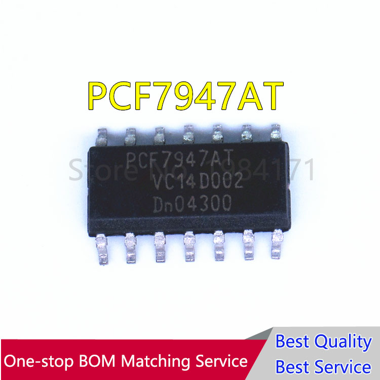 10 PCS PCF7946 PCF7946AT PCF7947 PCF7947AT NUOVO10 PCS PCF7946 PCF7946AT PCF7947 PCF7947AT NUOVO