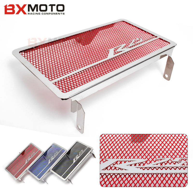 Motorcycle Accessories Engine Radiator Bezel Grille Grill Guard Cover Protector Red Parts For Yamaha R25 2013 2014 2015 New arashi motorcycle parts radiator grille protective cover grill guard protector for 2004 2005 2006 yamaha yzf r1