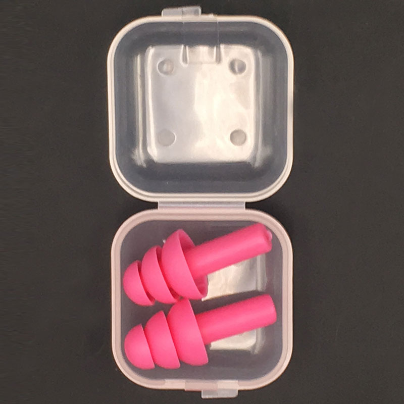 Soft Silicone Ear Plugs for Sound Insulation Ear Protection - Anti Noise Snoring Sleeping Plugs For Travel