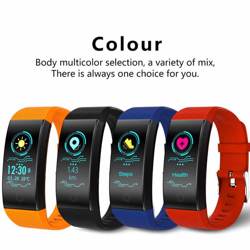 BANGWEI 2020 Neue Männer Smar uhr blutdruck herz rate monitor Tracker Student Schlaf Schwimmen Elektronische Watchs Männer Und Frauen