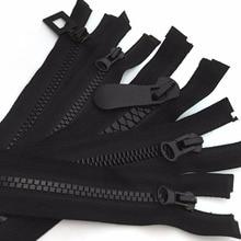 70 см(27 '') 5#8#15# черные открытые молнии из смолы на молнии для пуховиков пальто сумка Одежда DIY Швейные ремесла аксессуары для одежды