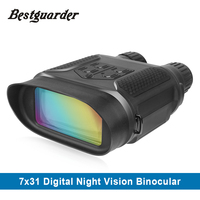 Digital Night Vision Binocular For Hunting 7x31 With 2 Inch TFT LCD HD Infrared IR Camera