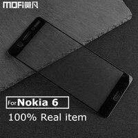Nokia 6 Glass Screen Protector Nokia 6 Tempered Glass 2 5D Hard Edge White Black Full