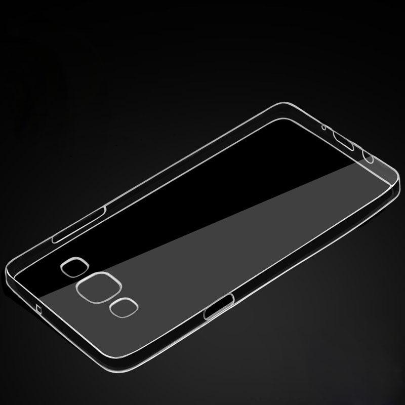 2017 ультра тонкий ТПУ Кристалл Прозрачный чехол задней части кожи для Samsung Galaxy A3 случаев сотового телефона задняя крышка coque Капа