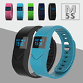 Heart Rate Monitor Watch Bluetooth Smart Bracelet Wristband M5S with Fitness Tracker Sleep Monitor for Xiaomi iPhone Smart Phone