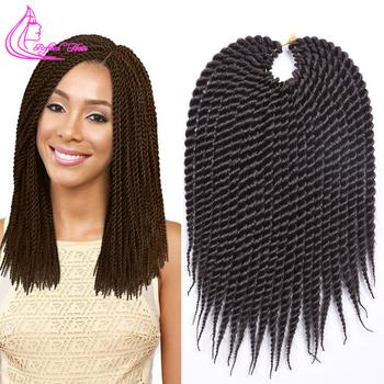 Twisted Braided Synthetic Hair Extensions