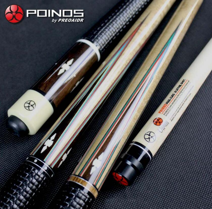 POINOS Handmade DK Billiard Pool Cue Stick Kit Maple Durable Professional 13mm 11.5mm Tips Inlaid and Carved Handle China 2019POINOS Handmade DK Billiard Pool Cue Stick Kit Maple Durable Professional 13mm 11.5mm Tips Inlaid and Carved Handle China 2019