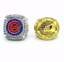 Precio inferior de La Más Reciente Replica MLB 2 Unidades 2016 1907 Anillo de Campeonato de la Serie Mundial de Béisbol Chicago CUBS de regalo para los hombres!!!!