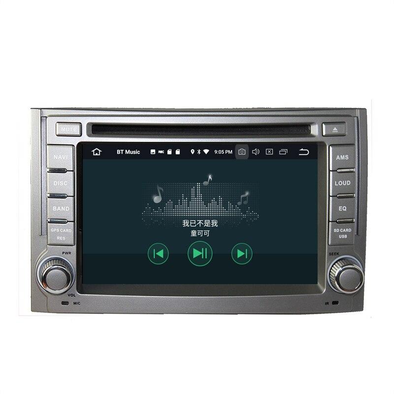 Sinairyu 2 г Оперативная память Android 7.1 автомобильный DVD для Hyundai H1 2007-2015 Octa core 16 г Встроенная память Радио GPS навигации игрока головное устройство
