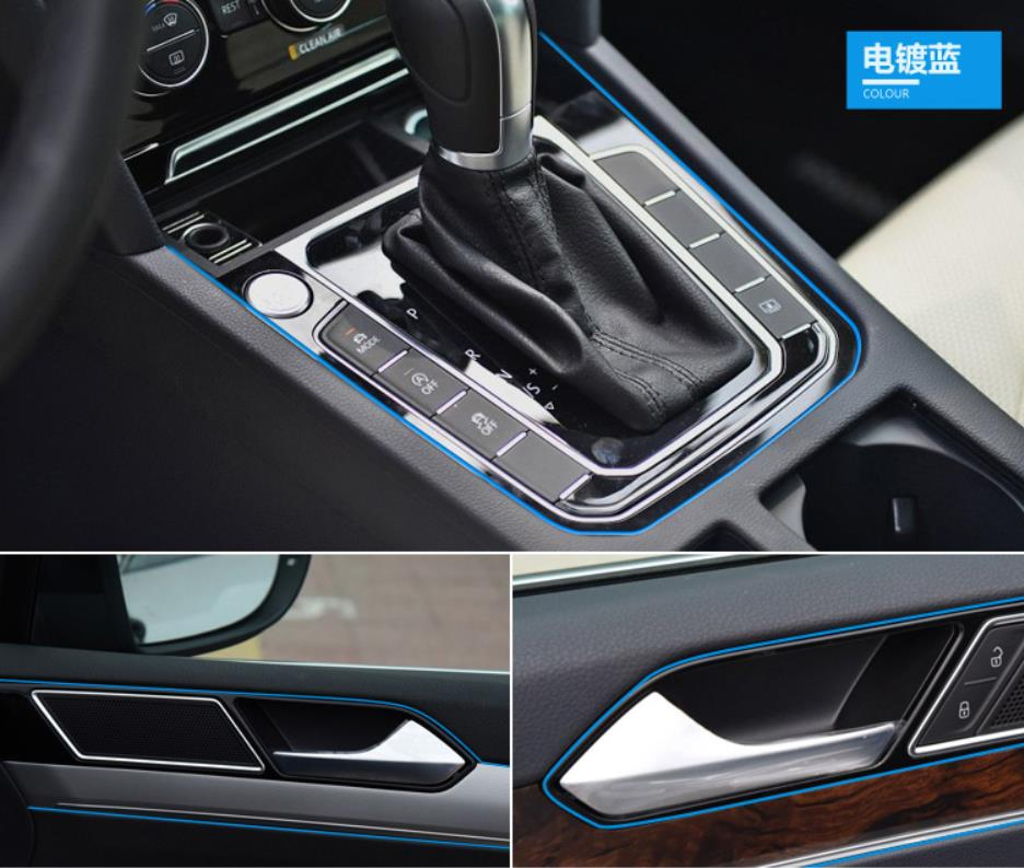 Image 4 - 5M Car Interior Decoration Moulding For BMW E46 E39 E38 E90 E60 E36 F30 F30 E34 F10 F20 E92 E38 E91 E53 E70 X5 X3 X6 M M3 M5 M2-in Car Stickers from Automobiles & Motorcycles
