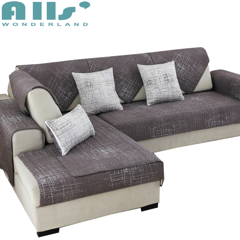 Cheap Sofa Cover: Sofa Slipcovers 1pc Cotton Sectional Sofa Cover Furniture