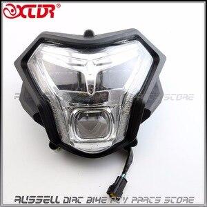 Image 1 - Zongshen rx3 ZS250GY 3 오토바이 250cc 액세서리 부품에 대 한 led 헤드 라이트 렌즈 전조 등 신호 헤드 라이트