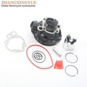 Image 2 - Kit de cilindro de gran apertura de 90cc 49mm y cigüeñal de baquelita para hm moto Cre/Enduro Baja 50 Cre / Six SM 50 Skid SM 50cc AM6 2T
