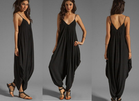 New Hot Sale Summer Style Women Jumpsuit Hip Hop Harem Pants For Female Romper Overalls Comfortable