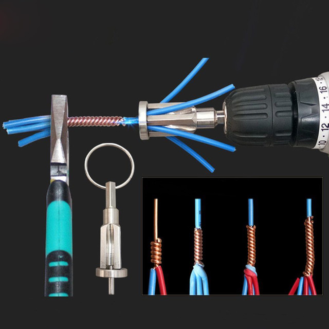 Stripping Artifact Electrician Automatic Stripping Twisting Line Artifact  New 2019 New products selling well