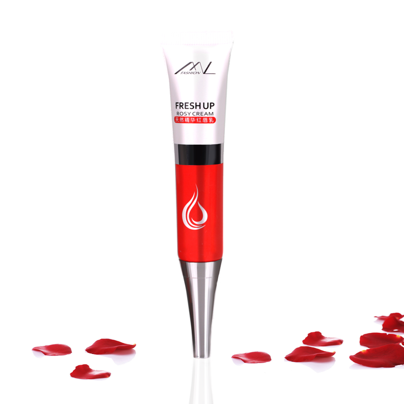 Fashion red lips milk prime red lips periareolar black lipstick