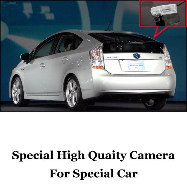 Камера автомобиля Для TOYOTA PRIUS 2009 ~ 2014 Заднего Вида Высокого Качества резервное Копирование Камера Для Любителей использовать | CCD с RCA