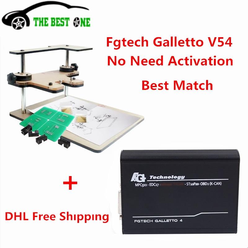 Цена за 2017 нет необходимости активации BDM Рамки + FGTECH Galletto 4 Мастер V54 ЭБУ чип-тюнинг FGTech Galletto V54 мастер FG Tech V54 DHL Бесплатная