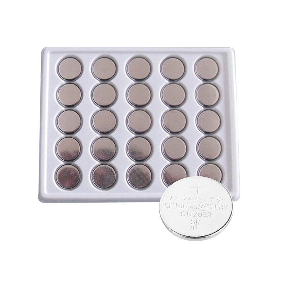 25 pièces JNKXIXI Bateria CR2032 3V Pile Bouton Au Lithium BR2032 DL2032 ECR2032 CR 2032 Batteries au Lithium