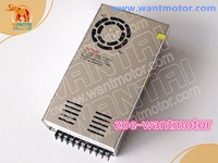Nice power!wantai 350,48VDC,9.8A power supply matching Nema 23, Nema 34 stepper motor
