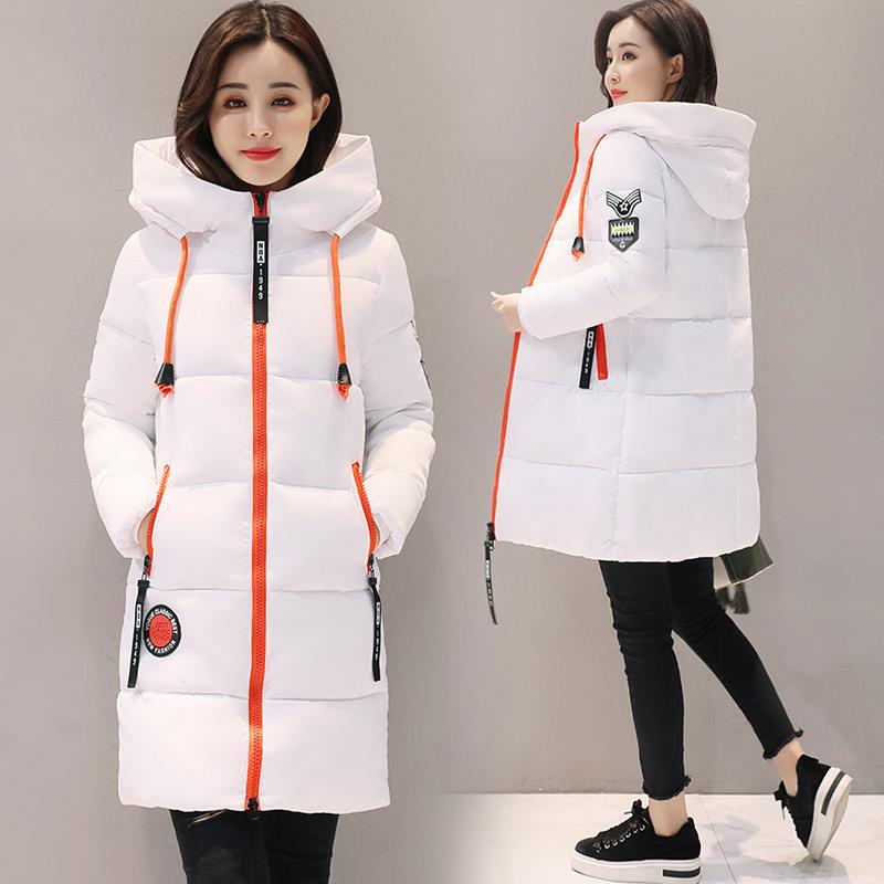Winter Thick Outwear Coat Women Winter Woman   Parka   Bio Down Thickening Hooded Jacket for Women High quality Cotton   Parkas   Coat