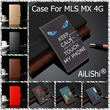 AiLiShi PU Leather Case For MLS MX 4G Luxury Flip Protective Cover Wallet With Card Slots Hot Sale In Stock