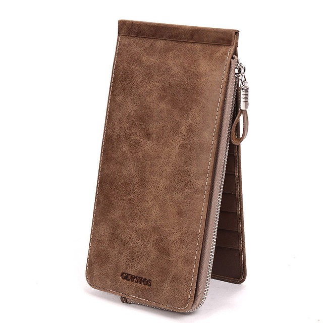 Retro Leather Card & ID Holders bag Multifunction wallet card package bag Women Wallets Lady Female Coin Purse
