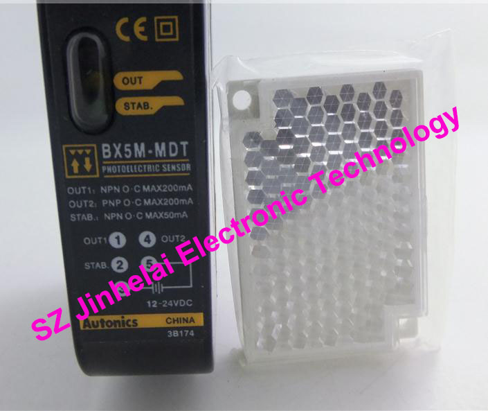 New and original BX5M-MDT AUTONICS PHOTO SENSOR 12-24VDC free shipping 10pcs axp209 qfn 48