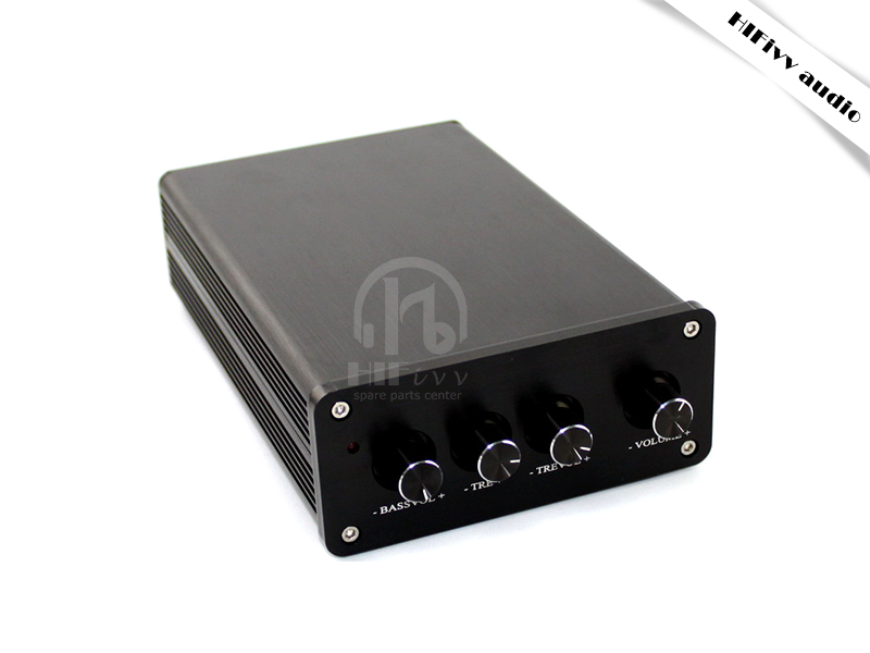 HIFivv audio finished amplifier TAS5630 2.1 channel digital stereo power amplifier 300W + 2 * 150W hifi audio power amp system finished a2 audio power amplifier k170j74 2sc3264 2sa1295 high power amplifier 150w 150w amp
