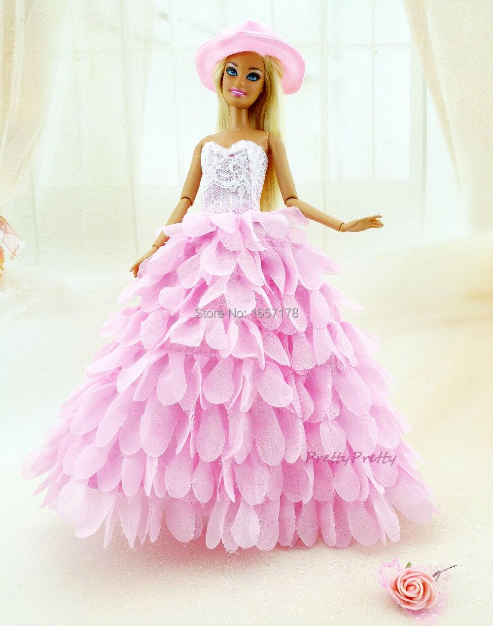 Dos colores nuevo estilo hechos a mano princesa del vestido de boda ...
