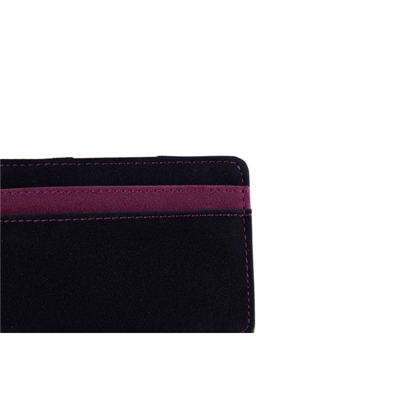 HTB1s28GaInrK1RkHFrdq6xCoFXaW - Mini Neutral Bifold Leather Wallet Card Holder