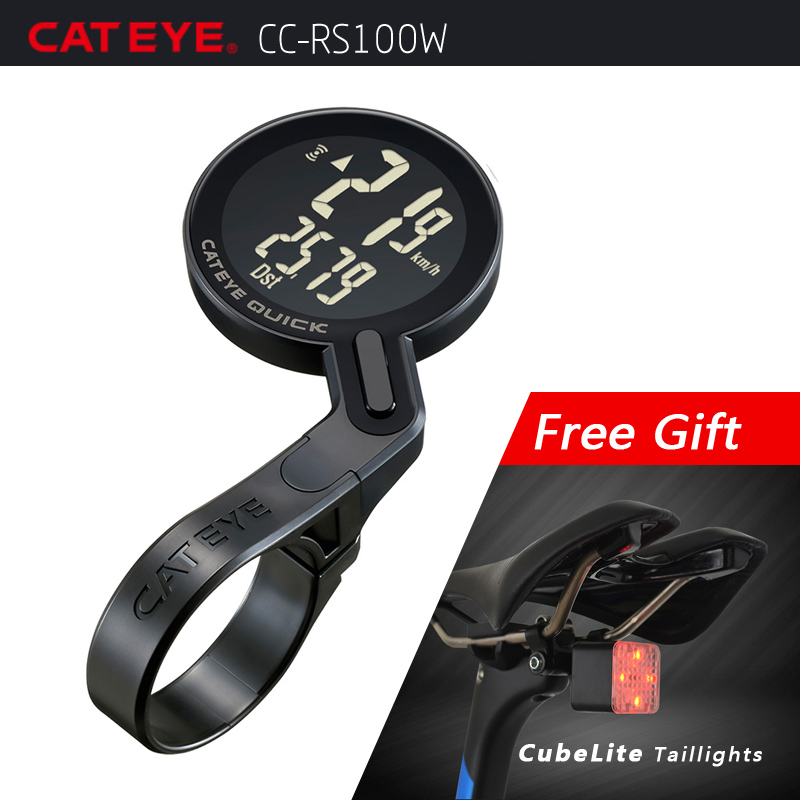 CATEYE Bicycle Computer Bike Analog Wireless Speedometer Cycling Waterproof Stopwatch Integrated Out Front Holder Computer NEWCATEYE Bicycle Computer Bike Analog Wireless Speedometer Cycling Waterproof Stopwatch Integrated Out Front Holder Computer NEW