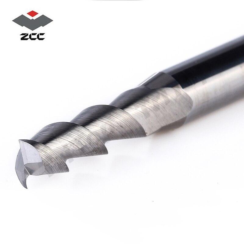 5 pz / lotto AL-2E-D5.0 ZCC.CT D5.0 lavorazione alluminio alluminio - Macchine utensili e accessori - Fotografia 3