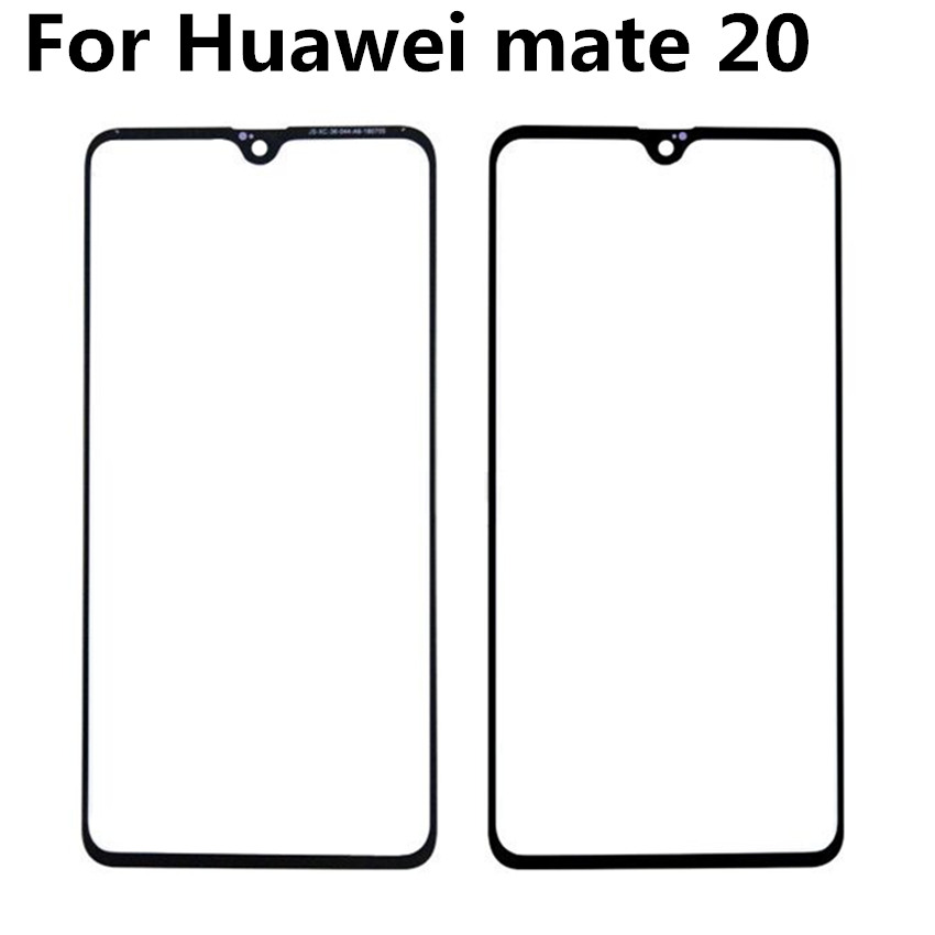 For Huawei mate 20 Front Glass Touch Screen Top Lens LCD Outer Panel Repair Without Flex in Mobile Phone Touch Panel from Cellphones Telecommunications