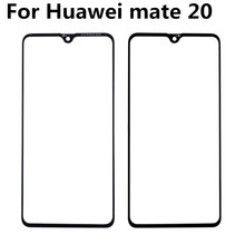 For Huawei mate 20 Front Glass Touch Screen Top Lens LCD Outer Panel Repair Without Flex front outer glass lens touch panel cover replacement for huawei p30 pro p20 lite mate 20 pro mate 10 mate 30 front screen lens