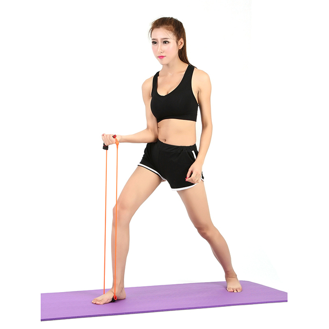 1Pc Resistance Bands Yoga Body Training Straps Muscle Chest Expander Rope Workout Fitness Exercise Tube Sports