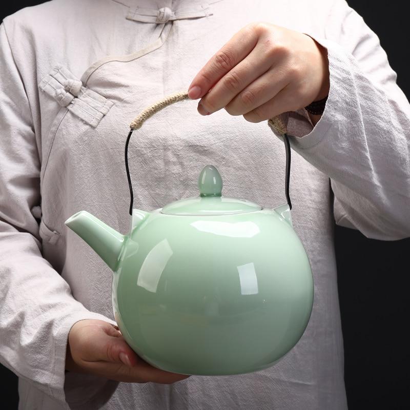 TANGPIN grande capacité celadon théière en céramique théière chinoise théière drinkware 2000 ml