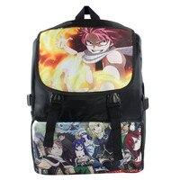 Fairy Tail Natsu Dragneel Lucy Happy Gray Messenger Shoulder School Bag book