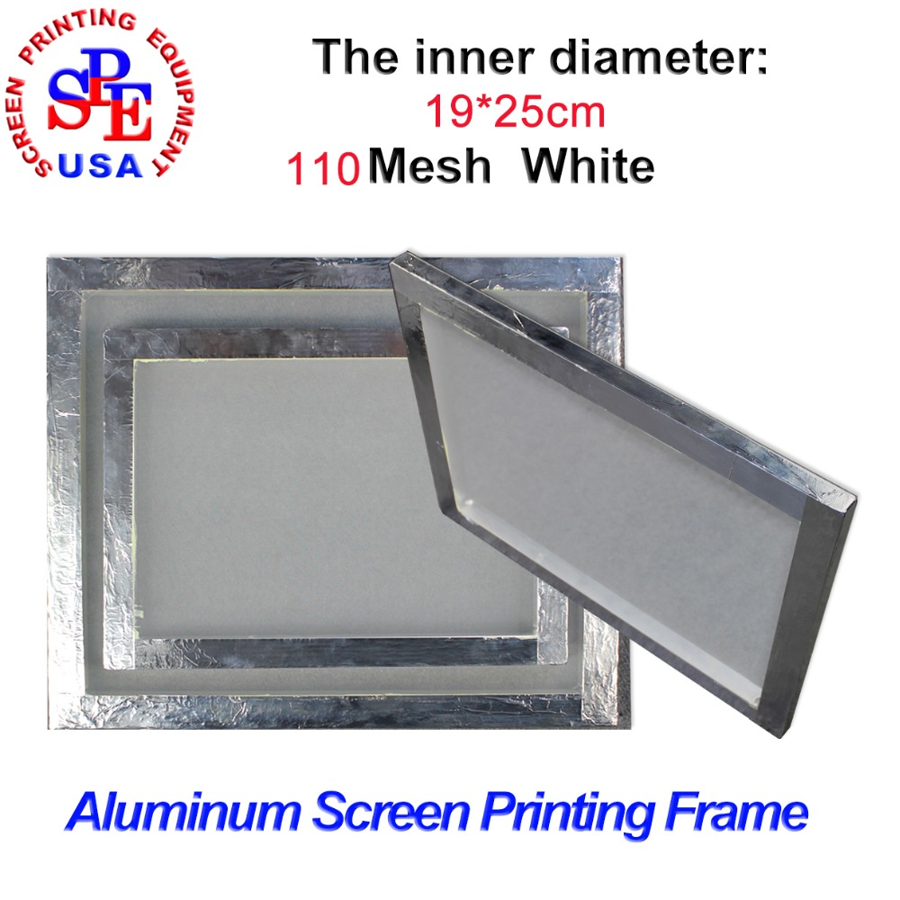 aluminum alloy screen frame for screen printing inner size 1925cm with