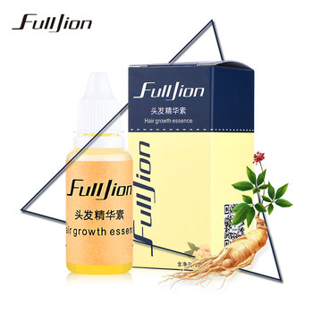 Fulljion Hair Growth Ginger Essence Hair Loss Liquid 20ml dense hair fast sunburst hair growth grow Restoration pilatory