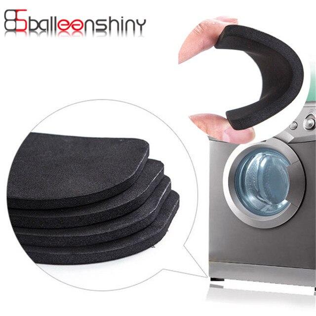4 pz/set Frigorifero Anti-vibrazione Pad Mat Per Lavatrice Shock Pad antiscivolo
