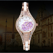 2019 Luxury DGJUD Brand Quartz Ladies Watch New Life Waterproof Diamond Fashion Decorative Bracelet Women's Watch Zegarek Damski(China)