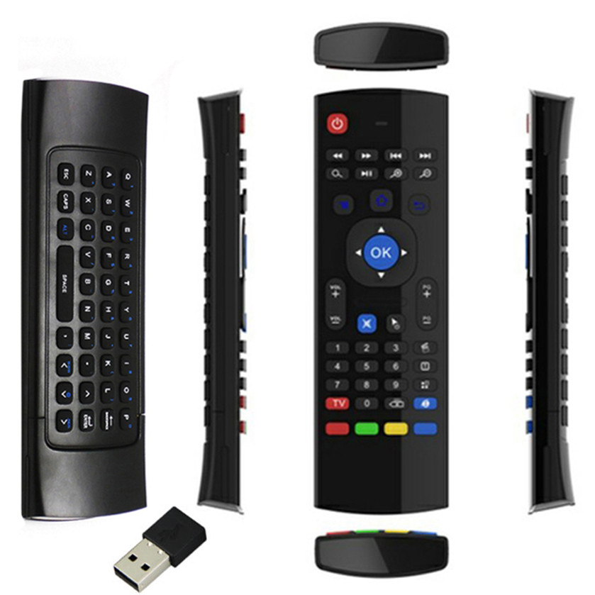 Best Price Newest 2.4G Wireless Remote Control Keyboard Air Mouse For XBMC Android TV Box