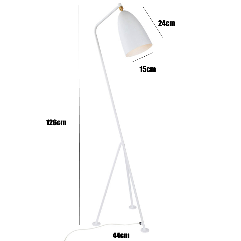 Collection Creative triangle Floor Lamp childrens room Standing Lamp Bedroom Study Living Room Light no flicker led bulb 9W