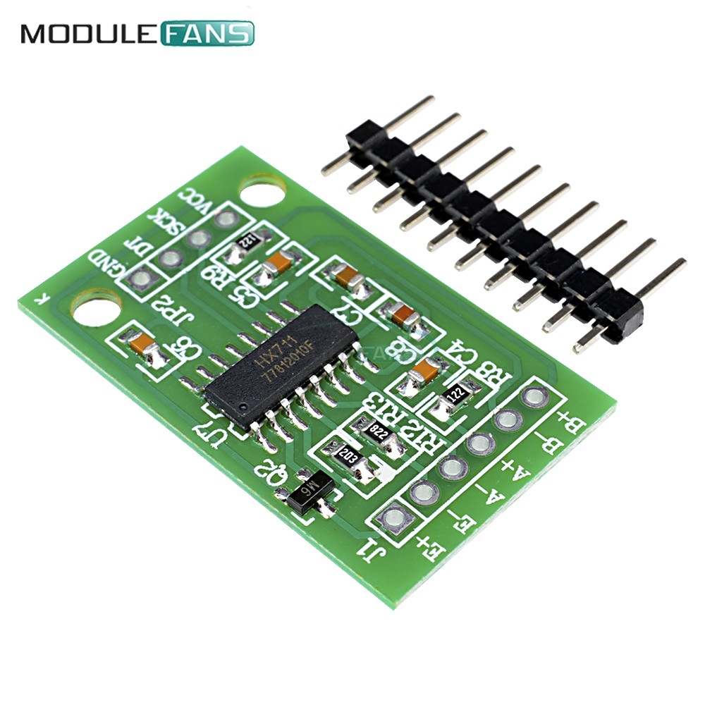 2PCS HX711 Weighing Sensor AD Module Dual-channel 24-bit a//d Conversion Shieding