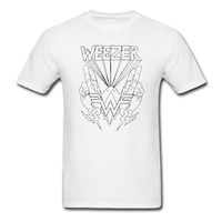 Weezer Lightning Hands T Shirt Men Women Pop Rock Punk Tee Size S XXXL