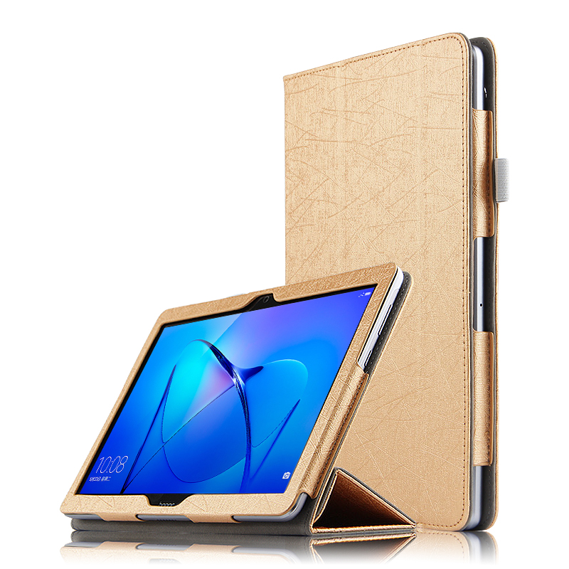 Case Ultra Thin Silk Stand Leather Mangetic Business Book Cover Case For Huawei MediaPad T3 10 Inch AGS-W09 AGS-L09 AGS-L03 Case