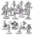 Pinup Collection (18 meninas Em Miniatura) kit Modelo de Resina Frete Grátis